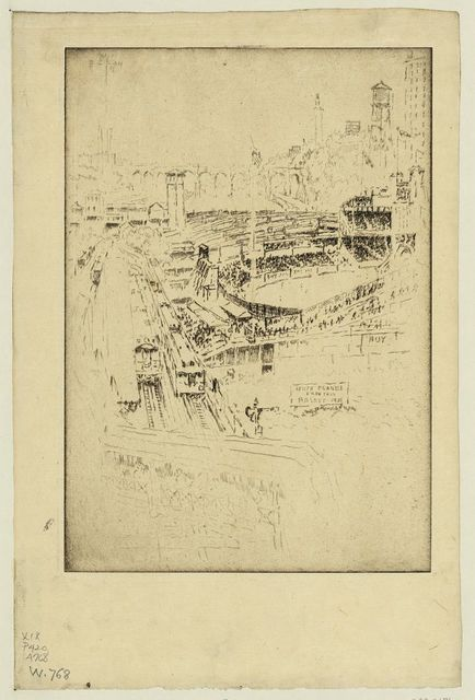 [Polo grounds, New York]