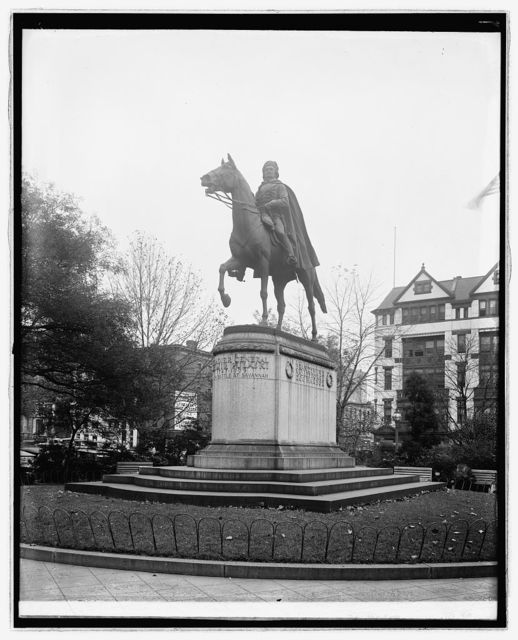 Pulaski Statue, [Washington, D.C.]