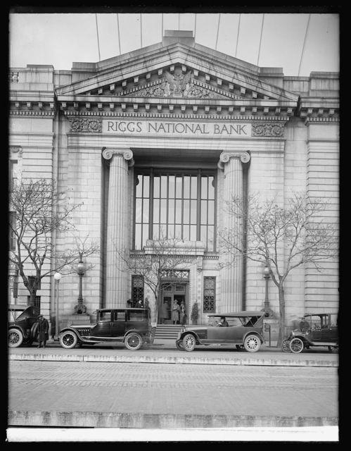 Riggs National bank, [Washington, D.C.]