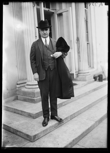 [Royal S. Copeland at White House, Washington, D.C.]