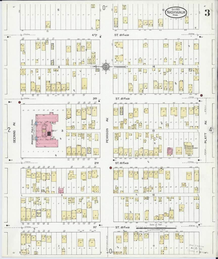 Sanborn Fire Insurance Map from Nashwauk, Itasca County, Minnesota
