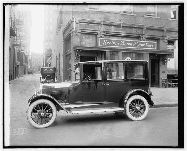 Scripps Booth sedan, 1921