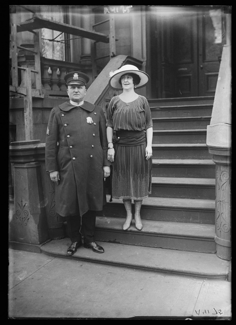 Sgt. Greene and wife. D.C.policeman