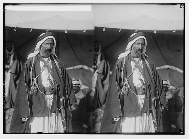 Sir Herbert Samuel's second visit to Transjordan, etc. Oudi Abou Tai, the famous Bedouin sheikh.
