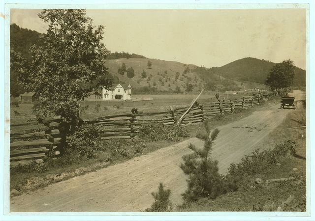 The Herold Farm, near Marlinton, Pocahontas Co. W. Va. One of the most prosperous farmers in the county.  Location: Pocahontas County--Marlinton, West Virginia / Photo by Lewis W. Hine.
