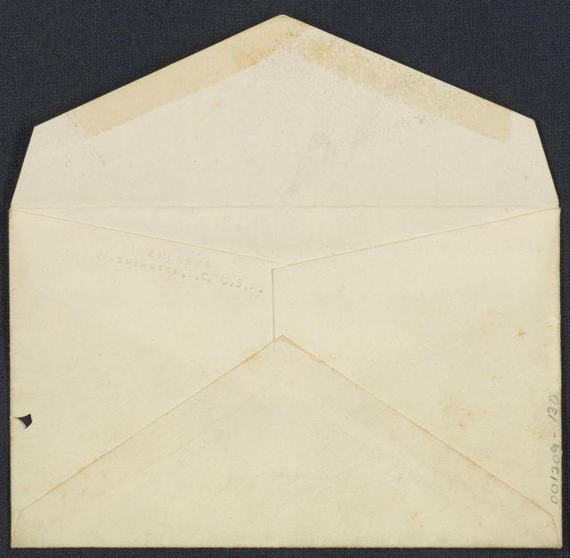 Warren G. Harding-Carrie Fulton Phillips Correspondence: Presidential inauguration ticket, 1921