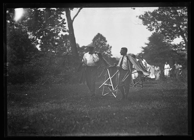 [Warren Harding, Firestone camp]