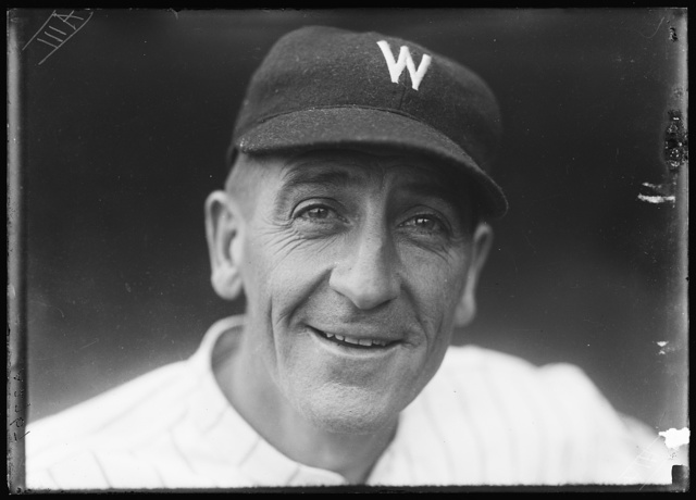 [Washington baseball player]