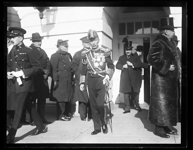 [White House visitors, Washington, D.C.]