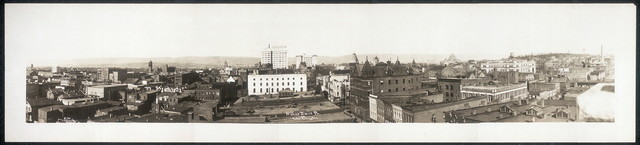 Wilkes Barre, Pa. from Hotel Redington