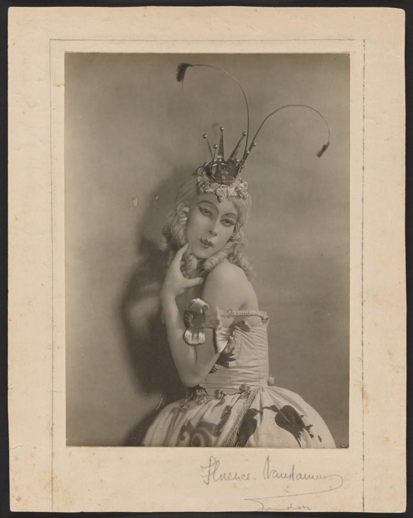Photograph of Bronislava Nijinska as the Humming Bird Princess in The Sleeping Princess, 1921, Florence Van Damm