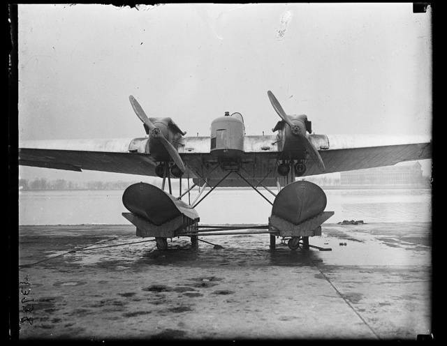 [Aircraft; Potomac River in background]