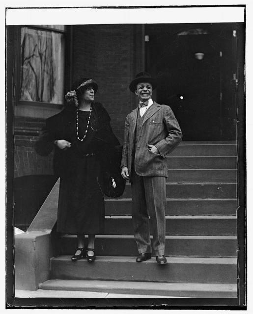Alice Longworth & Theo. Roosevelt