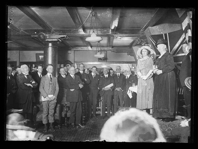 [Alice Mary Robertson on stage, right]