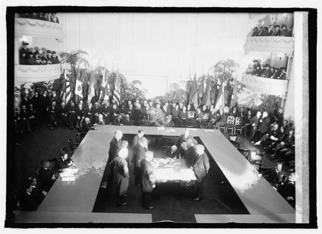 Balfour signing treaties, [2/5/22]