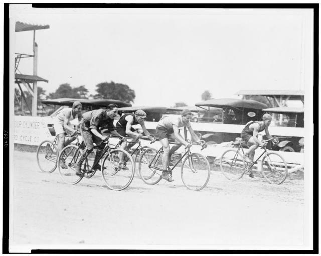 [Bicycle race in or near Washington, D.C.]
