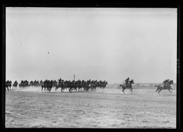 [Cavalry at event, Ft. Myer, Virginia]