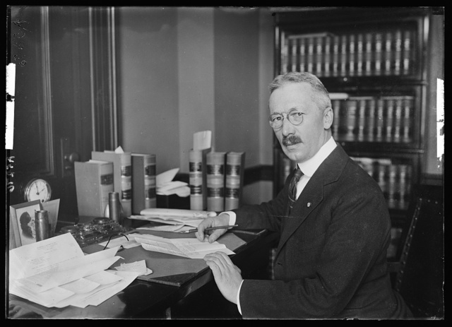 Charles Cheney Hyde, nominated Jan. 27th by the Pres. to be solicitor of the Dept. of State, succeeding Fred. K. Nielson