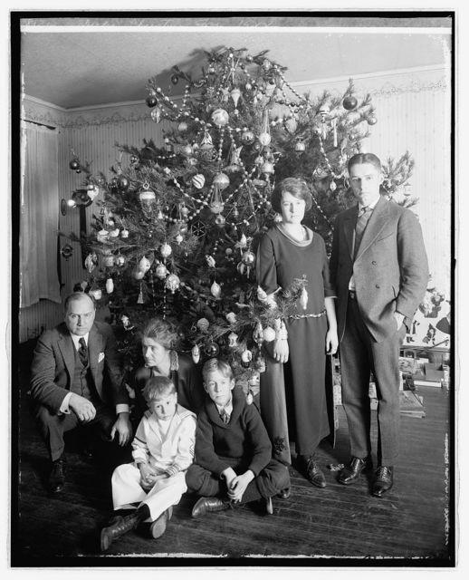 Dickey Christmas tree, 1922