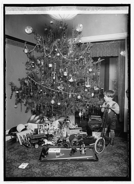 Dorsey Christmas tree, 1922