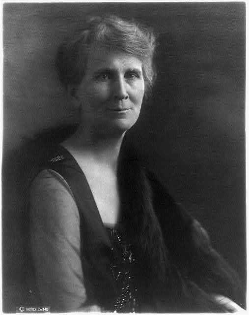 [Emma Garland Morgan Fall, half length, facing right. Wife of Albert Bacon Fall]