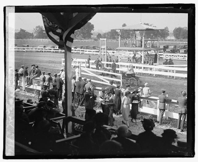 Horse show, 1922, 5/12/22