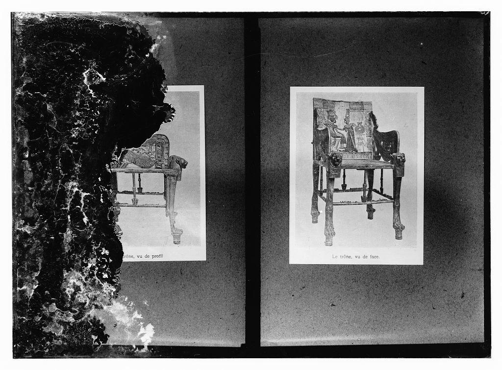 Items from Tutenchamun's [i.e., Tutankhamen's] tomb. Copies