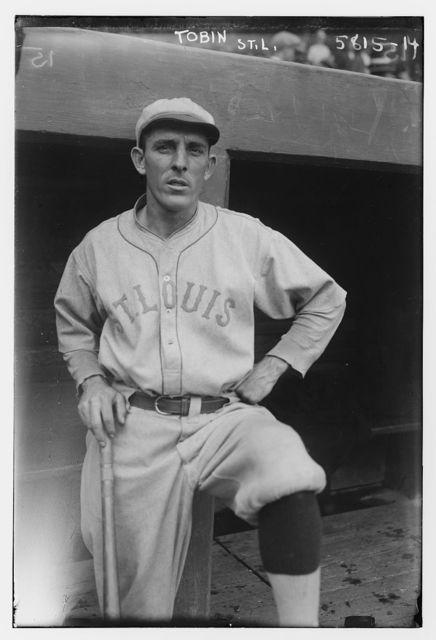 "[John T. ""Jack"" Tobin, St. Louis AL (baseball)]"