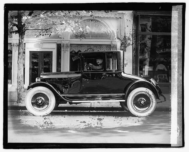 Leary in Maxwell coupe