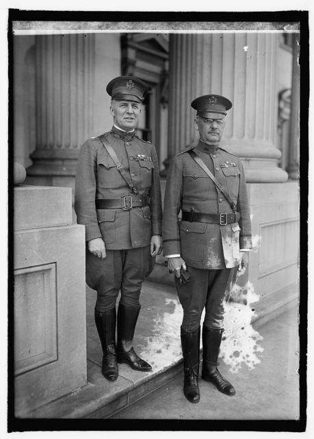Lt. Col. Chas. H. Morrow, Brig. Gen'l Wm. S. Grave [...]
