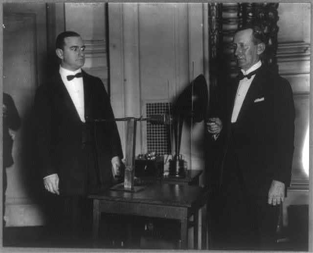 Marchese Guglielmo Marconi, 1874-1937