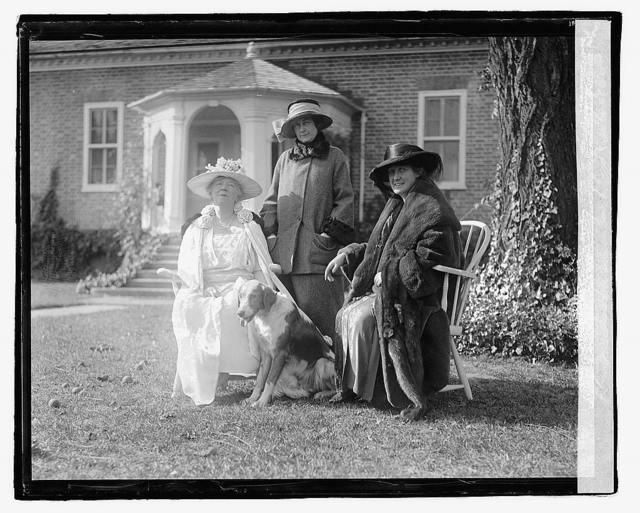 Miss Hutle, Mrs. Chelton, Mrs. Geddes, [10/24/22]