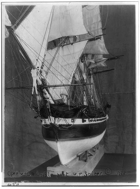 [Model ship]: Openhead and girdle? - port
