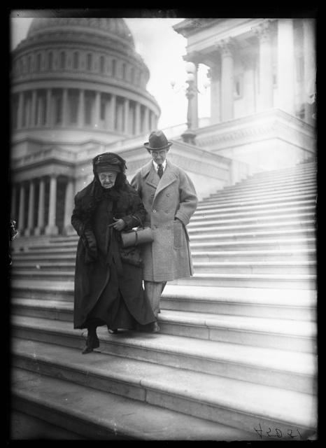 Mrs. Felton at Capitol