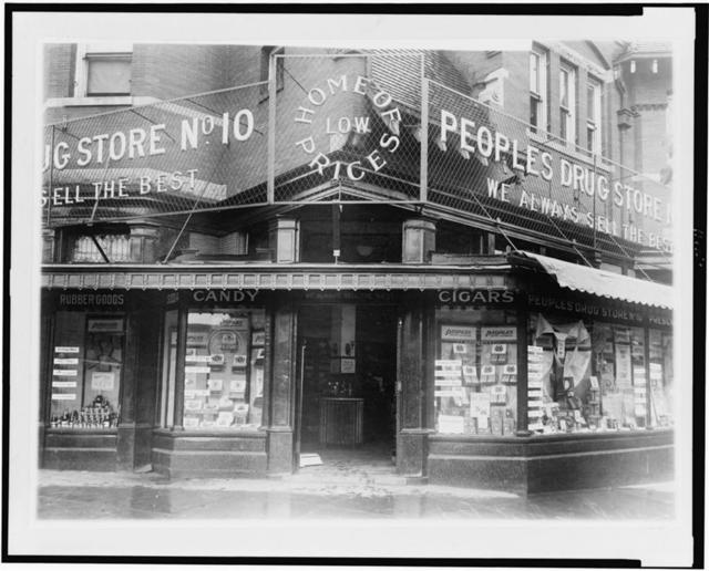 People's Drug Store no. 10, 18th and Columbia Road, N.W., Washington, D.C.