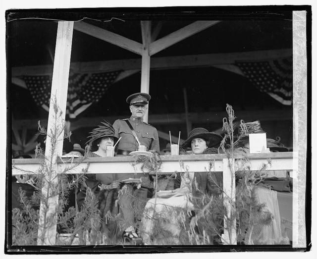 Pershing, Madam Mathieu & May Robt. Reinhart