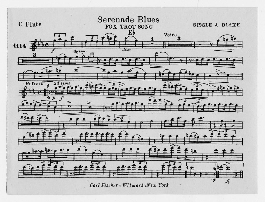 Serenade blues - PICRYL Public Domain Image