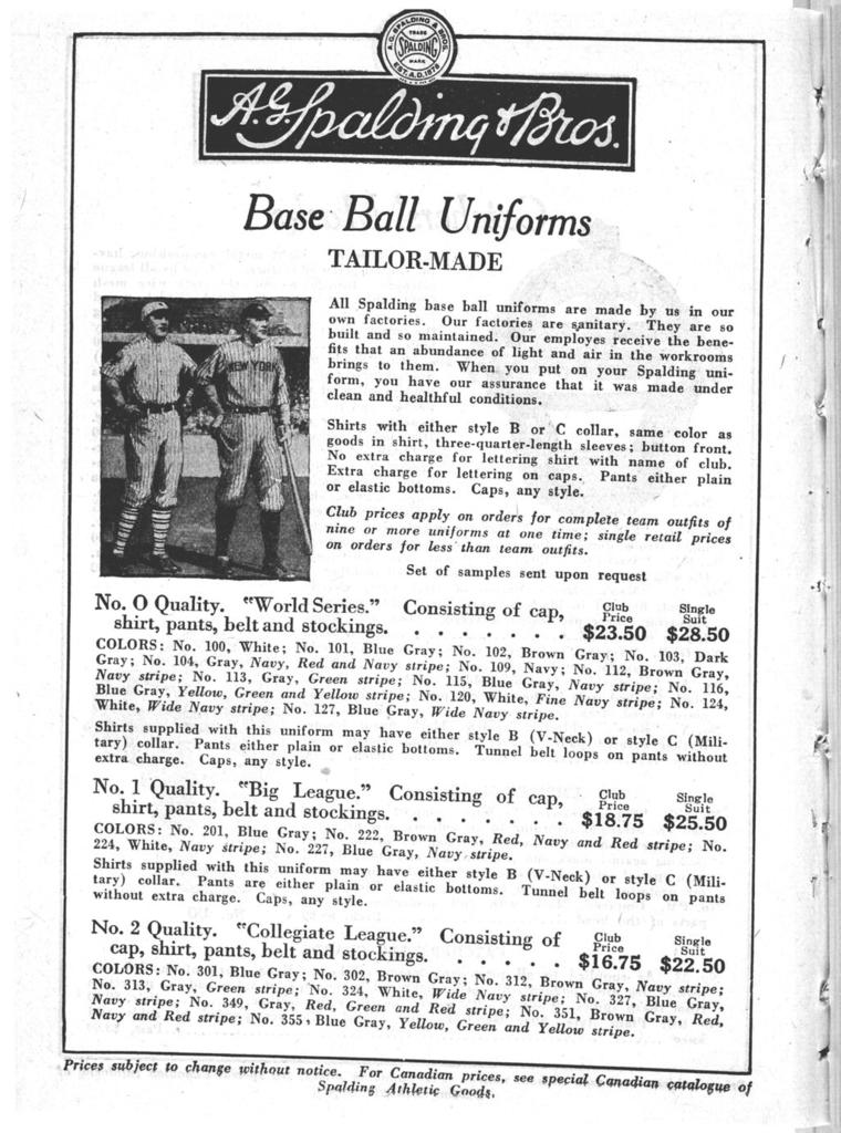 Spalding's official base ball guide, 1922