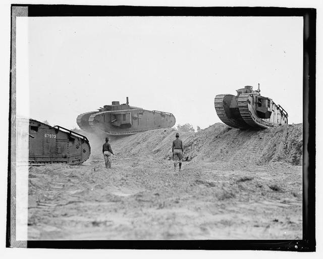 Tank demonstration, Camp Meade