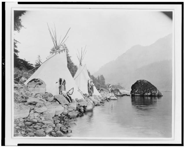 Teepees on the Columbia