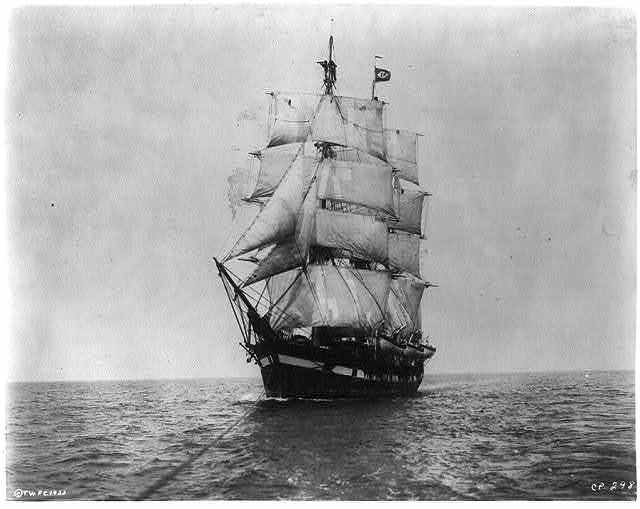 "The ship WANDERER used in movie ""Down to the Sea in Ships"" to represent the CHARLES W. MORGAN"