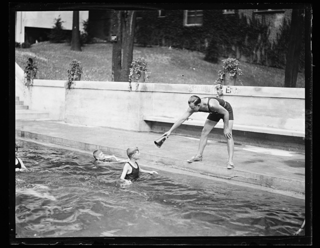 Wardman Park swimming pool