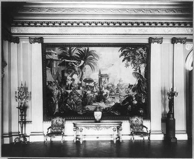 "[""Whitemarsh Hall,"" Edward Townsend Stotesbury house, Wyndmoor, Pennsylvania. Interior]"