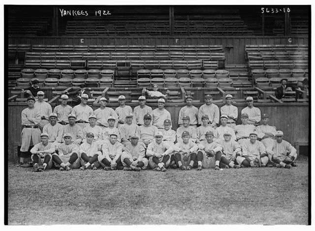 [Yankees Team Photo, New York AL (baseball)]