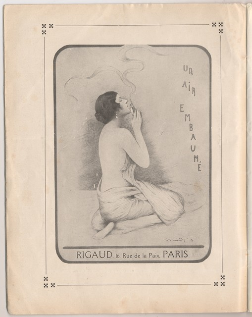 Program Officiel des Ballets et Opéras Russes de Serge de Diaghilew (Théatre National de L'Opéra), Mai-Juin 1922