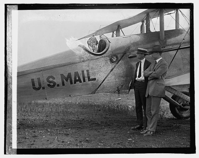 [U.S. Mail airplane], 8/2/22