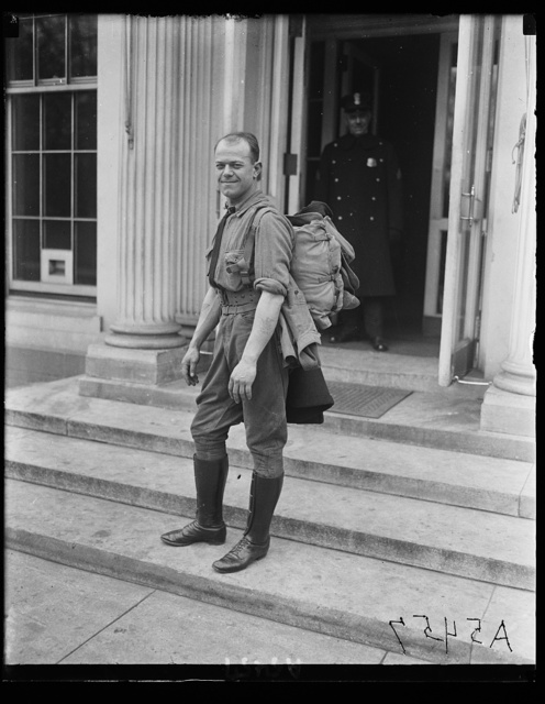 C.C. Franklin, World War veteran [White House, Washington, D.C.]