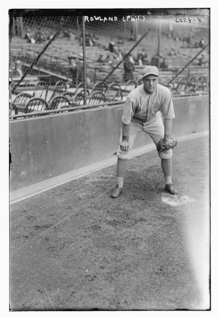 [Chuck Rowland, Philadelphia AL (baseball)]