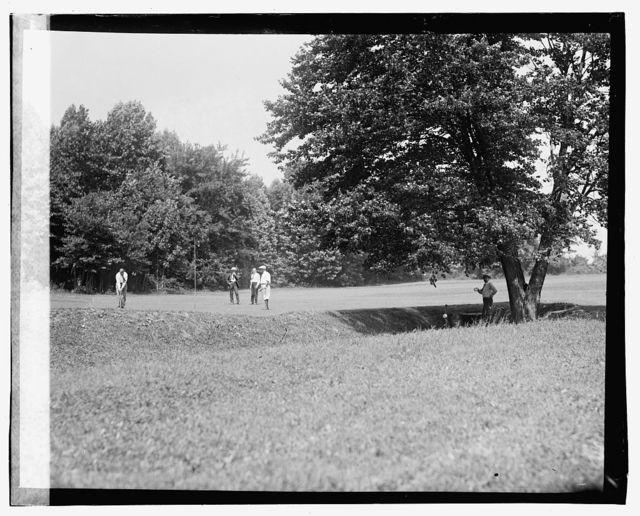 Congressional Country Club, [Bethesda, Maryland]