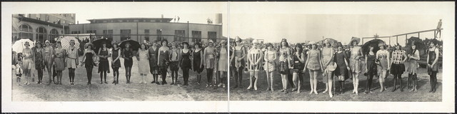 [Contestants Bathing Girl Revue, Galveston, Tex., May 13, 1923]